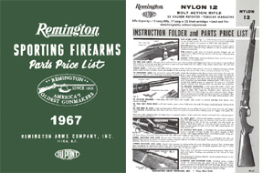 Remington 1967 Component Parts Catalog