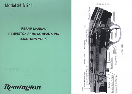 Remington Model 24/241 Repair Manual
