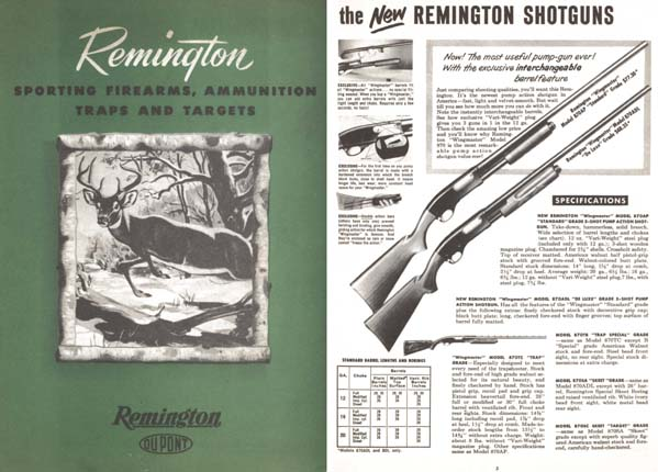 Remington 1948 Guns Catalog