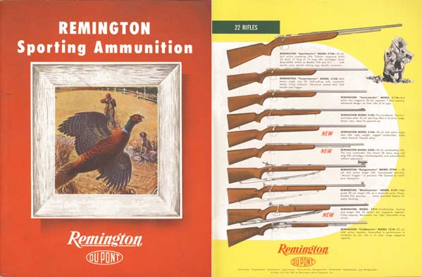 Remington 1948 Ammunition and Guns Catalog