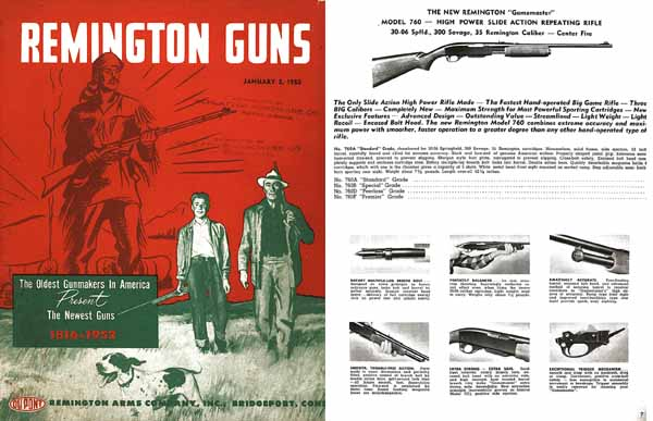 Remington 1952 Arms Co. Catalog