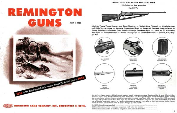 Remington 1953 Arms Co. Catalog