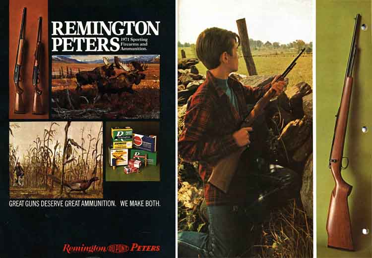Remington 1971 Firearms Catalog