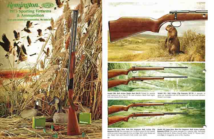 Remington 1973 Firearms Catalog