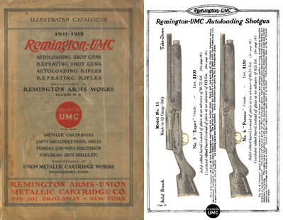 Remington 1911-1912 Guns and Parts - Union Metallic Cartridge Co.
