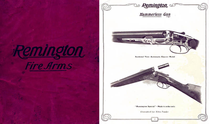 Remington 1908 Firearms Catalog