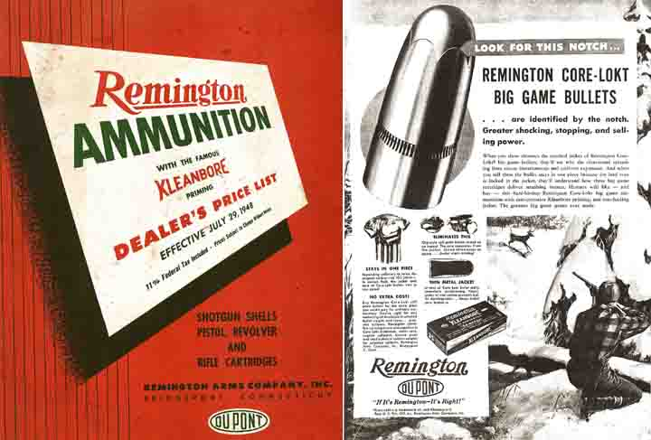 Remington 1949 Ammunition Catalog