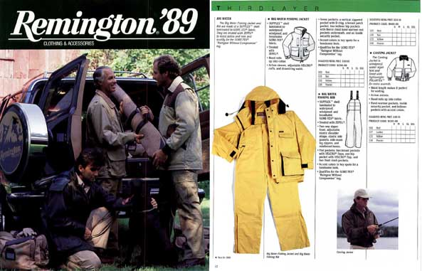 Remington 1989 Clothing and Accessories