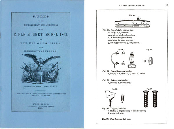 Rifle Musket Model 1863 Manual
