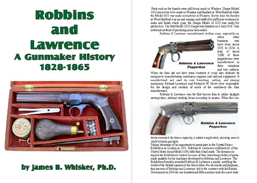 Robbins and Lawrence - A Gunmaker History 1828-1865