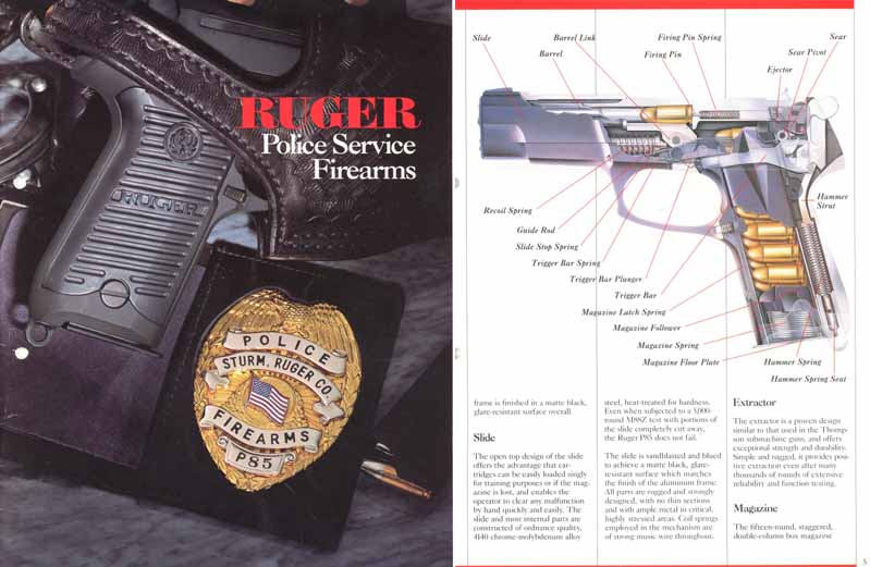 Ruger 1988 Police Service Firearms