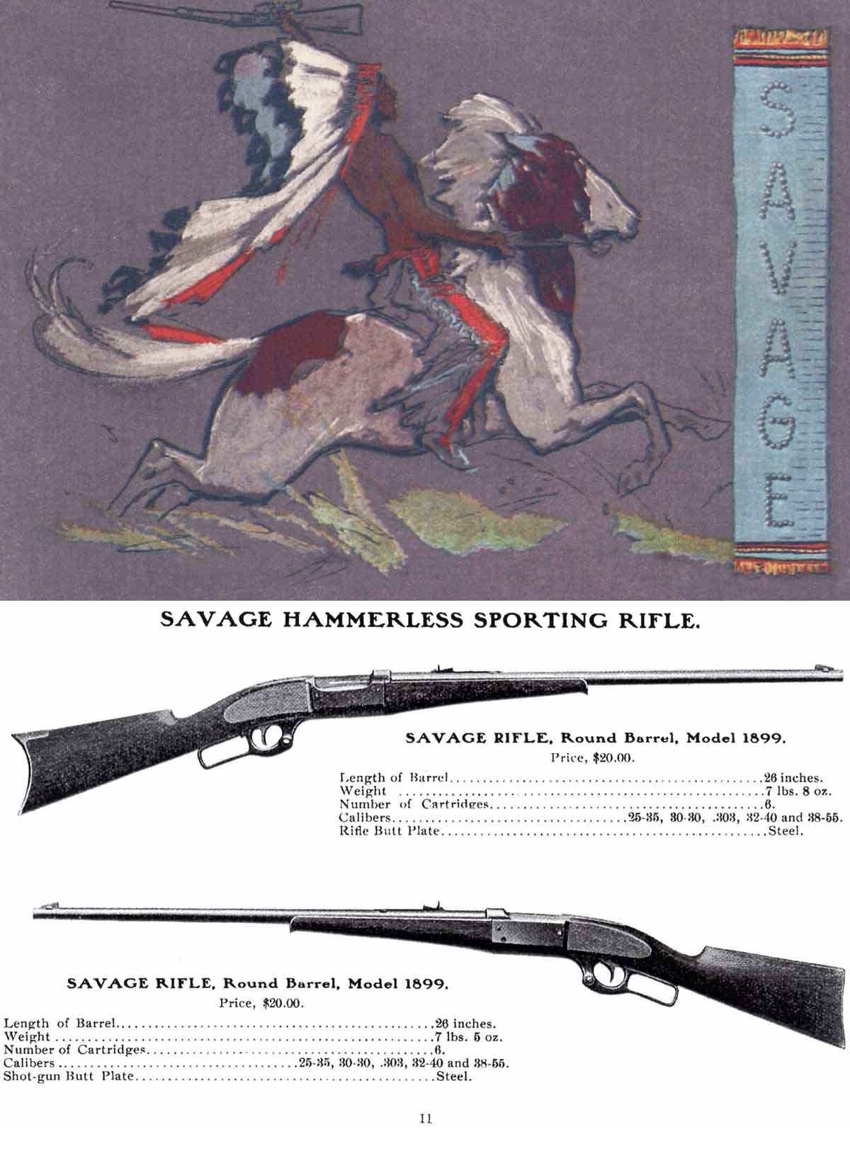 Savage 1903 Arms Company Catalog