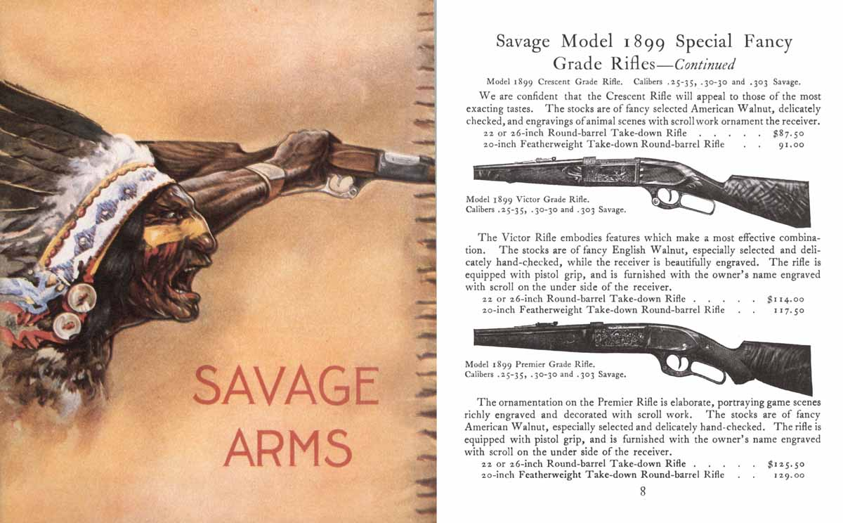 Savage c1916 Arms Company No. 60 Catalog