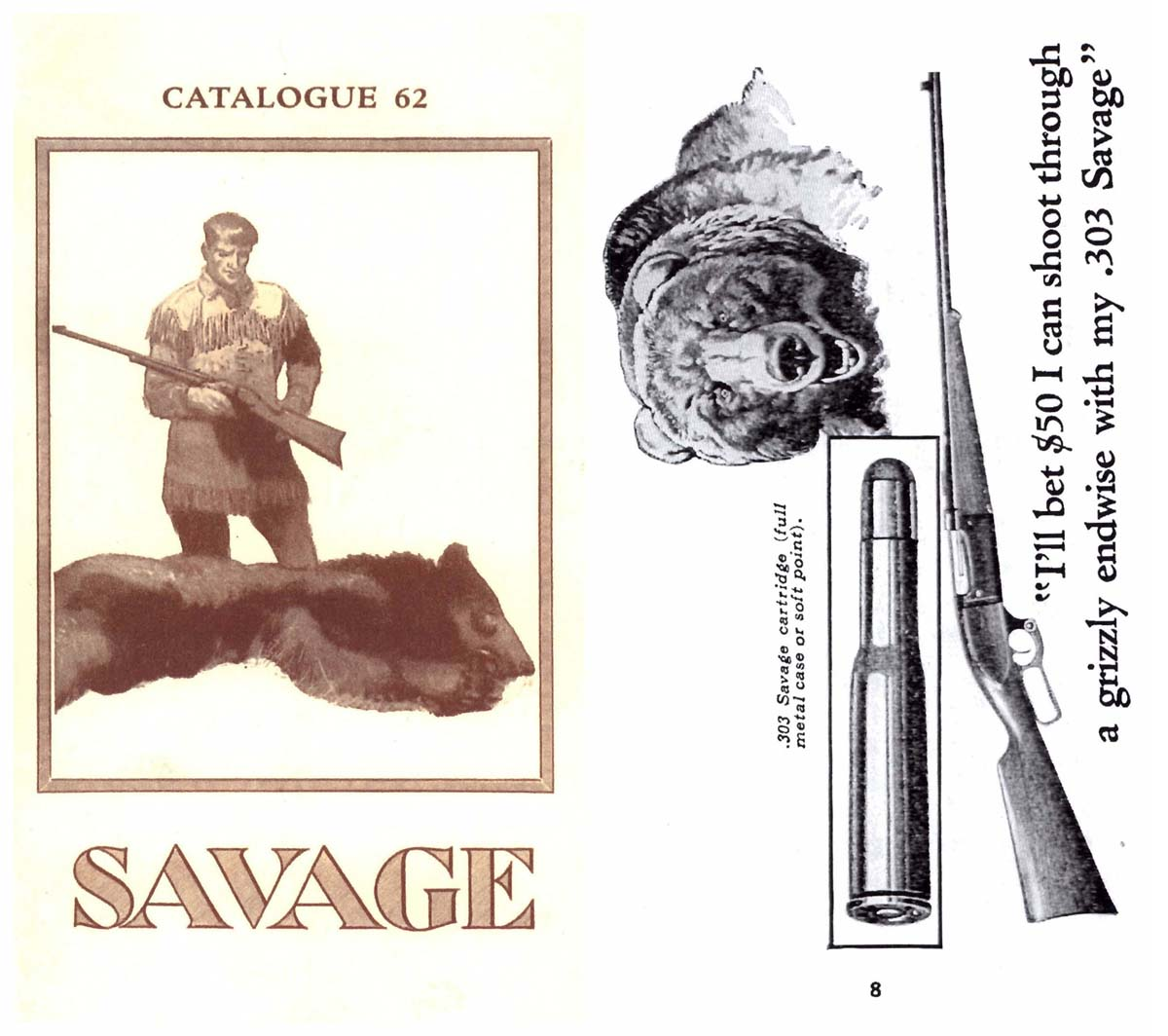 Savage c1923 Arms Company No. 62 Catalog