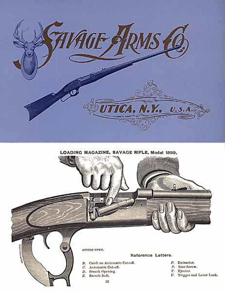 Savage 1900 Arms Company Catalog