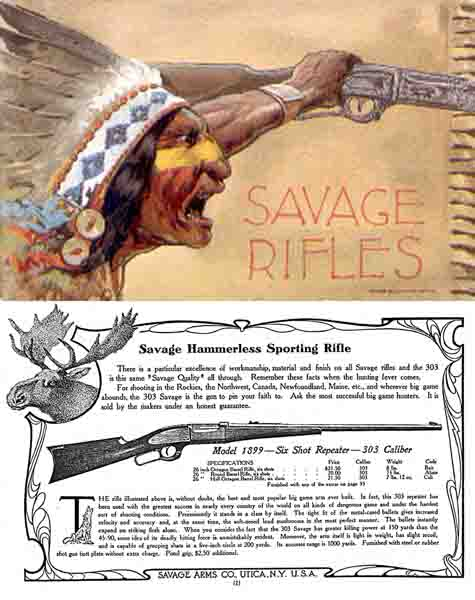 Savage 1905 Arms Company Catalog