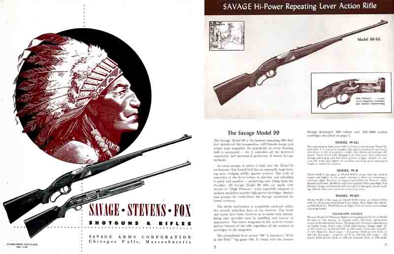 Savage 1953 Gun Catalog