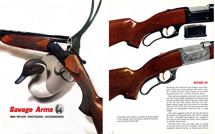 Savage 1968 Firearms Catalog