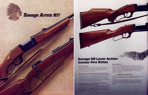 Savage 1977 Firearms Catalog