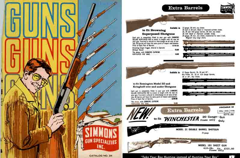 Simmons 1970 Gun Catalog, Olathe, Kansas