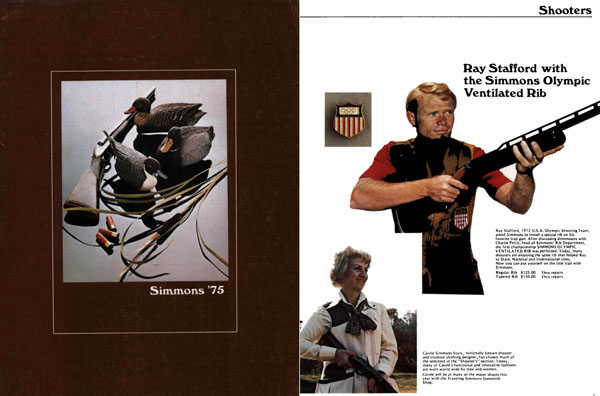Simmons 1975 Firearms Catalog Olathe, Kansas