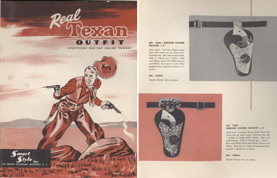 Smart Style c1958 Real Texan Cap Gun Catalog