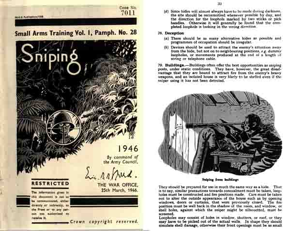Sniping-1946 Small Arms Training (UK)