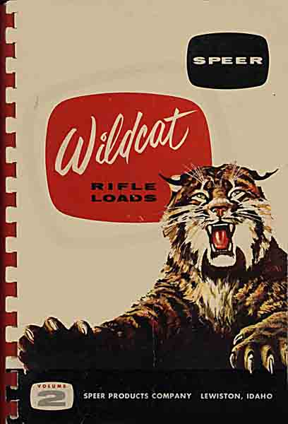 Speer 1956 Wildcat Rifle Loads Volume 2