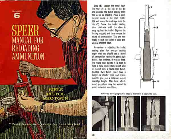 Speer 1964 Reloading Manual No. 6