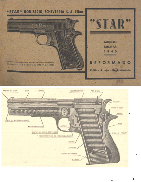 Star 1940 Modelo Militar 9mm Reformado Manual