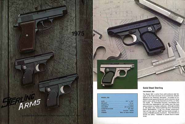 Sterling Arms 1975 Pistol Catalog, Gasport, New York