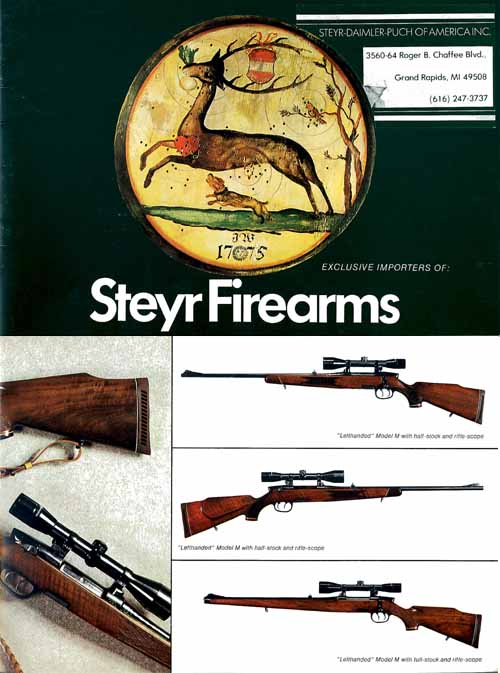 Steyr-Mannlicher Schoenauer Repeating Sporting Rifles 1975 (in English-Catalog)