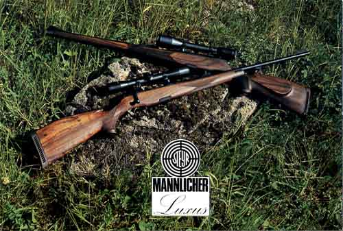Steyr-Mannlicher Schoenauer Repeating Sporting Rifles 1976 (in English-Catalog)