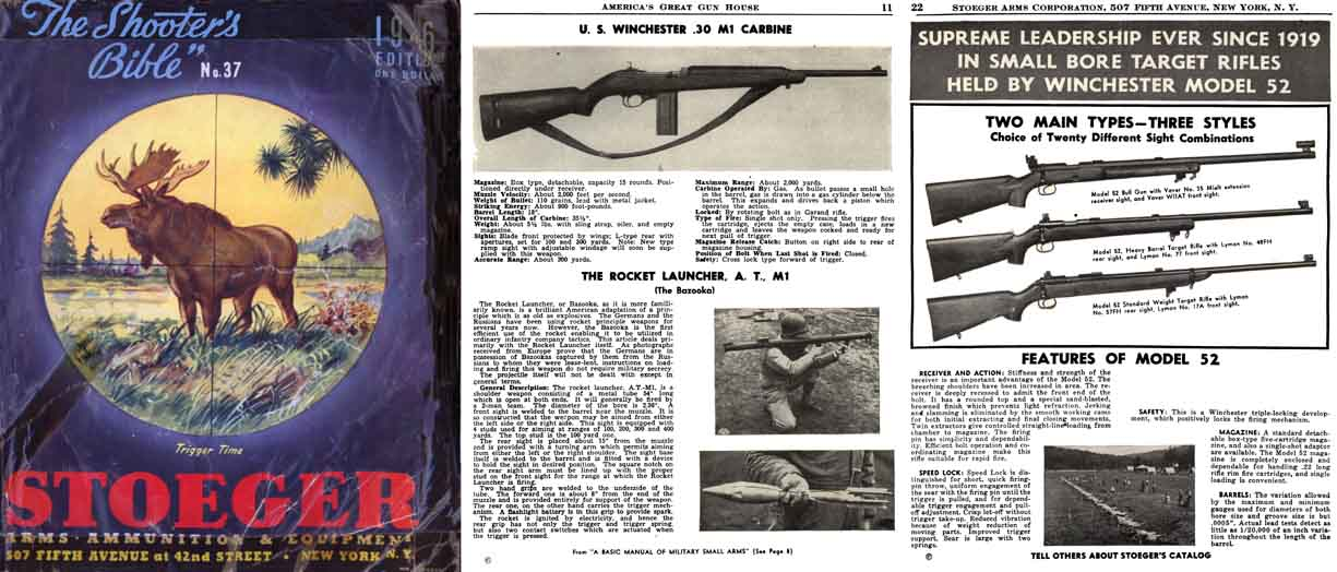 Stoeger 1946 - The Shooter's Bible #37 Gun Catalog