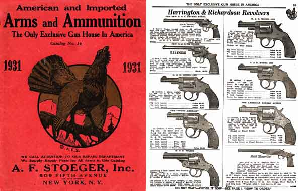 Stoeger 1931 Arms & Ammunition Catalog No. 16