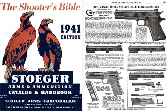 Stoeger 1941 Arms & Ammunition Catalog No. 33
