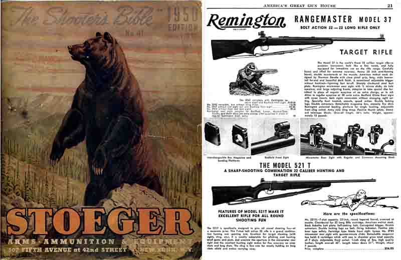 Stoeger 1950 - The Shooter's Bible #41 Gun Catalog