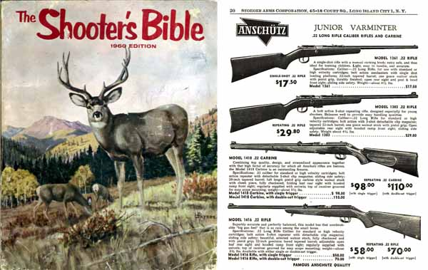 Stoeger 1960 - The Shooter's Bible #51 Gun Catalog