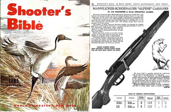 Stoeger 1965 - The Shooter's Bible #56 Gun Catalog