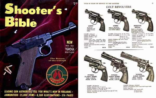Stoeger 1969 - The Shooter's Bible #60 Gun Catalog