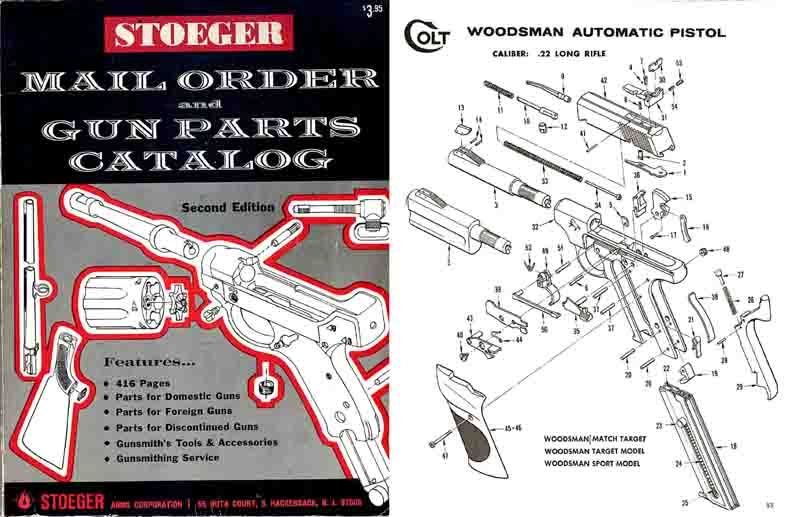 Stoeger c1970 Gun Parts and Accessories Catalog- Manual