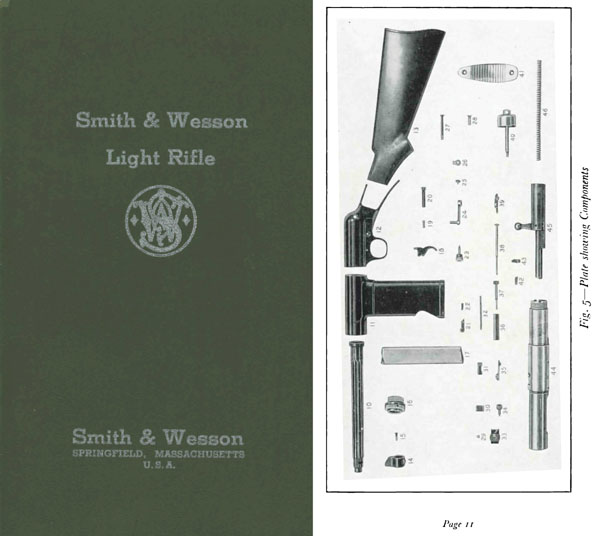 Smith & Wesson 1940 Model Light Rifle Manual (for UK)