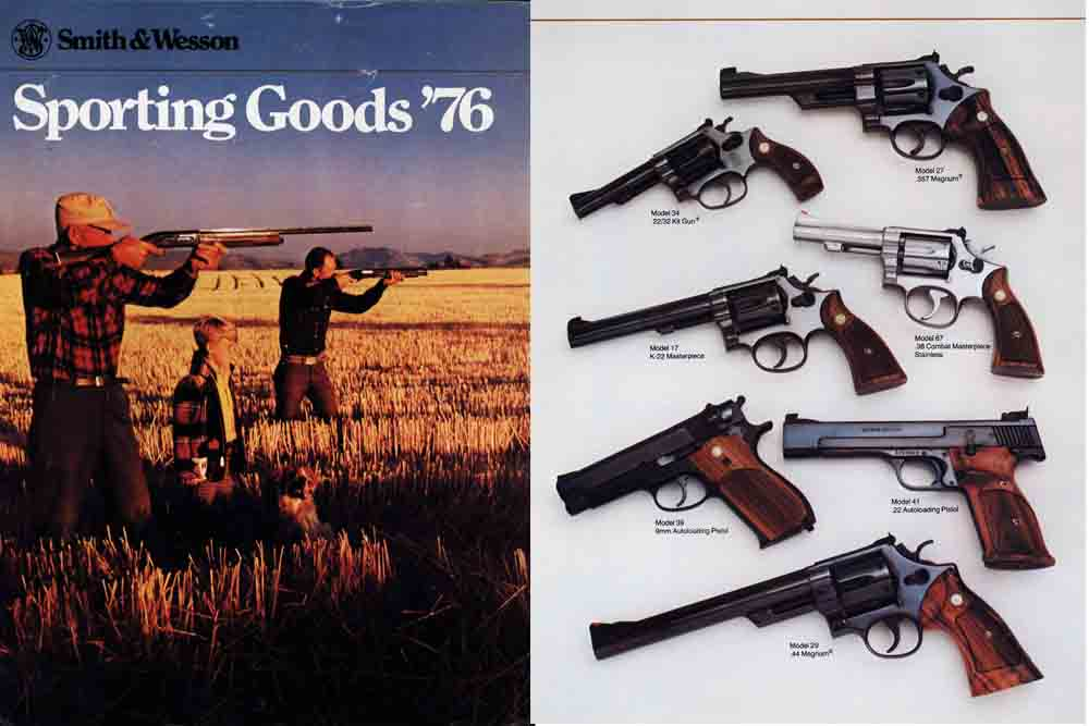 Smith & Wesson 1976 Gun Catalog