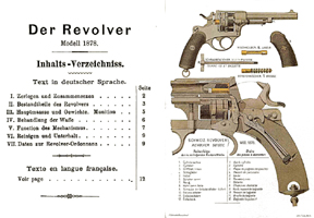 Swiss Model 1878 Der Revolver Manual