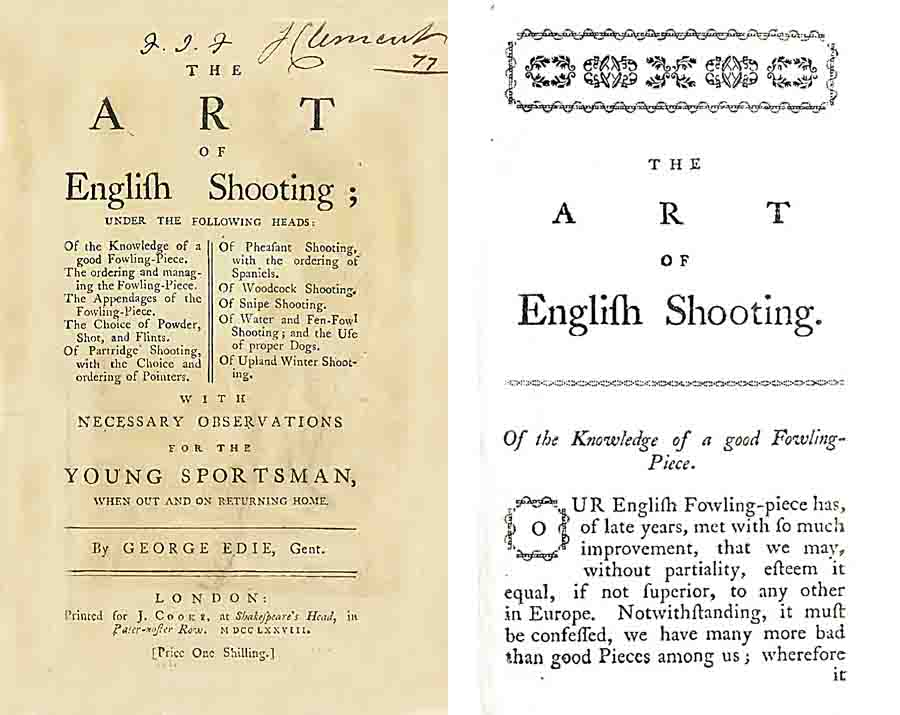 The Art of English Shooting 1777