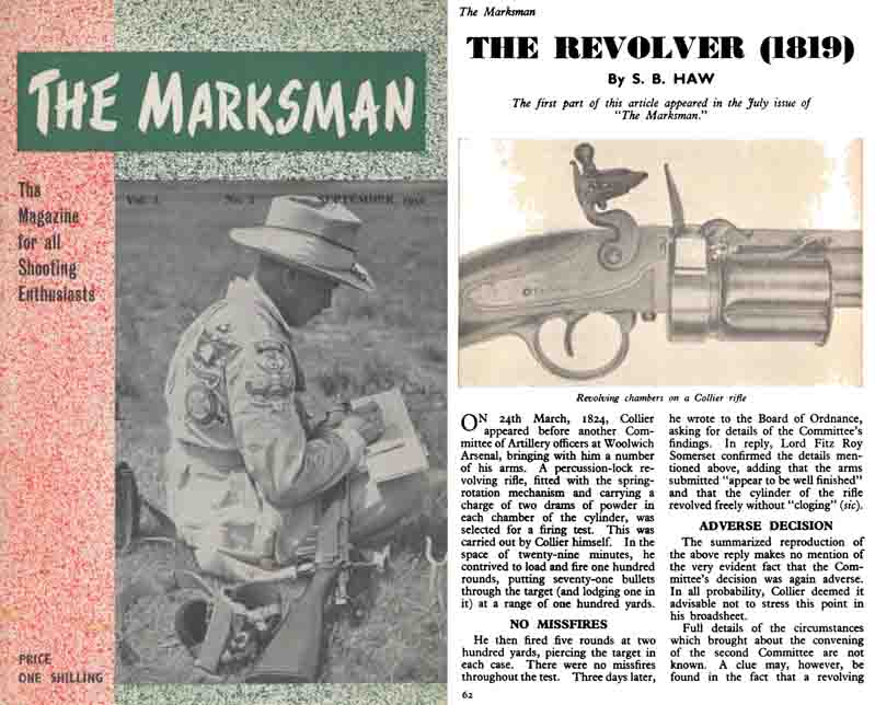 The Marksman- Sept 1950 (UK Magazine)