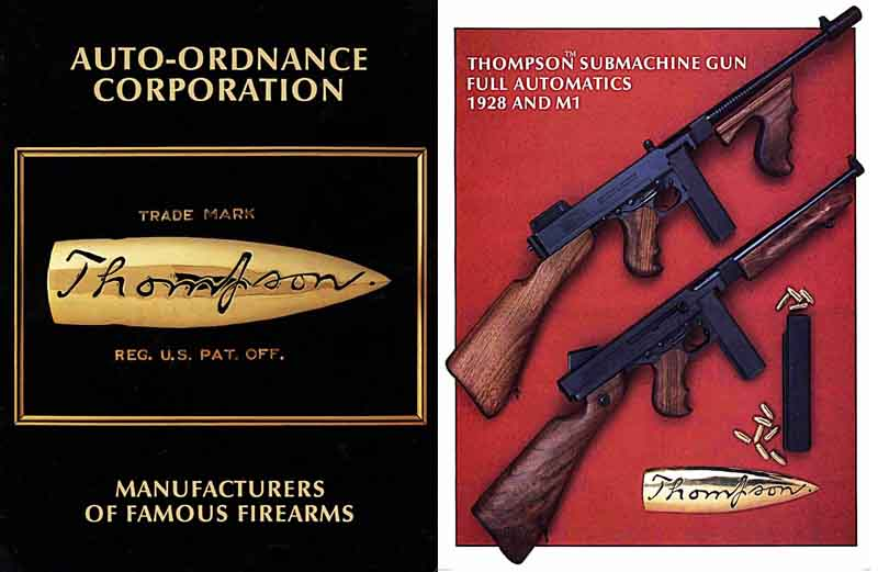 Auto-Ordance Corporation 1988 Thompson