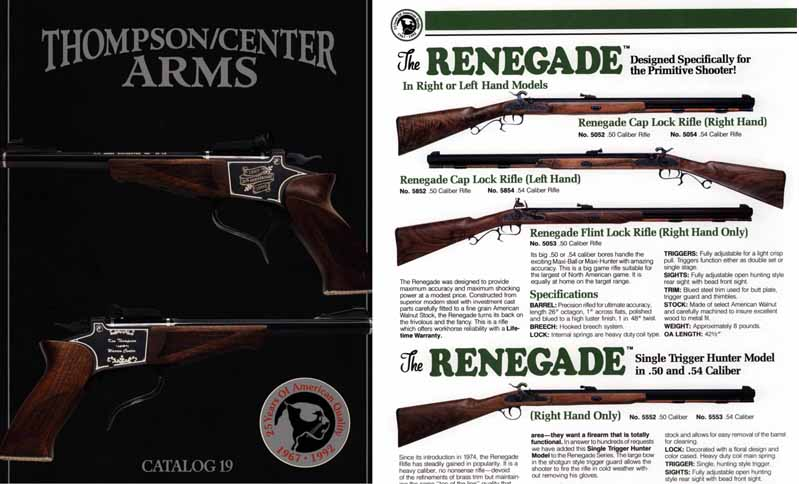 Thompson Center Arms 1992 Catalog, Rochester, New Hampshire