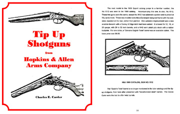 Hopkins & Allen Tip-Up Shotguns - Carder