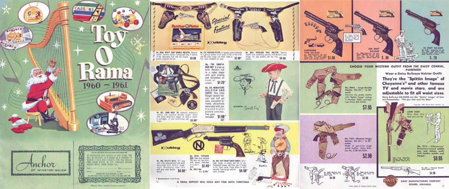 Toyarama 1960-61 Toy Catalog
